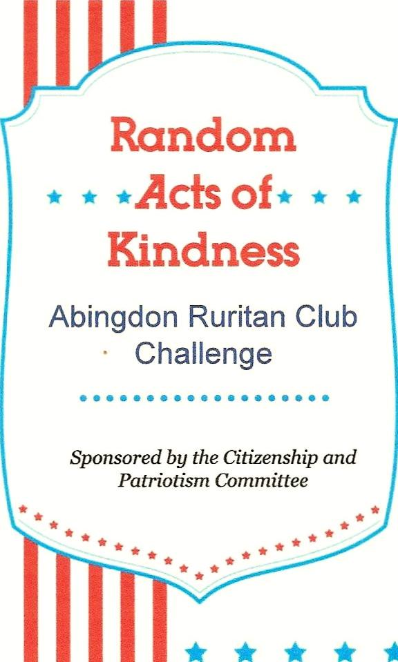 Community Service Committees | Abingdon Ruritan Club