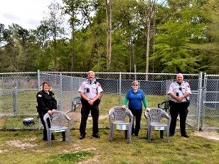 Donation of chairs to Gloucester Animal Control