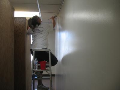 Bena Fire Station paint job 3-22-21